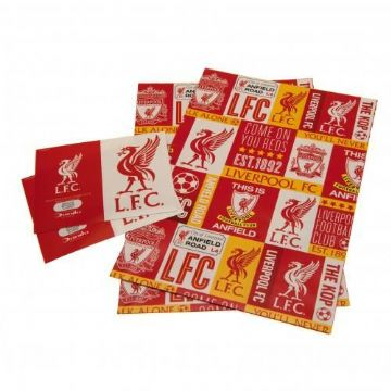 Liverpool FC Gift Wrapping Paper